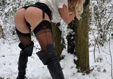 Hace frio para andar en tanga